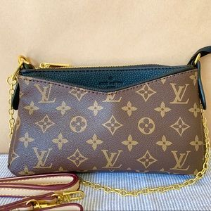 Louis Vuitton Pallas black monogram